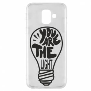 Etui na Samsung A6 2018 You are the light