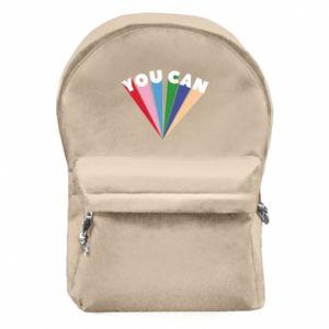 Plecak z przednią kieszenią You can