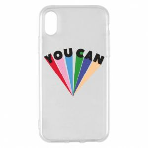 Etui na iPhone X/Xs You can