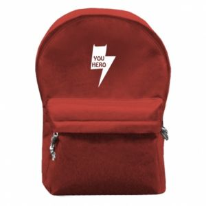 Plecak z przednią kieszenią You hero