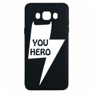 Etui na Samsung J7 2016 You hero