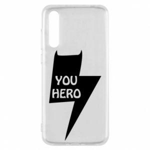 Etui na Huawei P20 Pro You hero