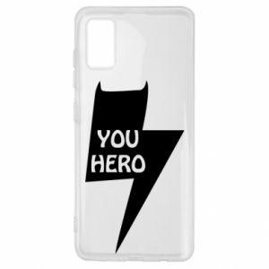 Etui na Samsung A41 You hero