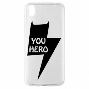Etui na Huawei Y5 2019 You hero