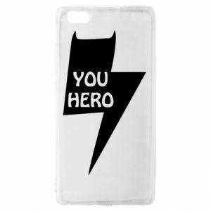 Etui na Huawei P 8 Lite You hero