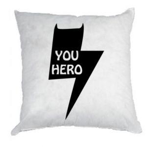 Poduszka You hero