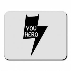 Podkładka pod mysz You hero