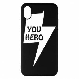 Etui na iPhone X/Xs You hero
