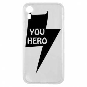 Etui na iPhone XR You hero