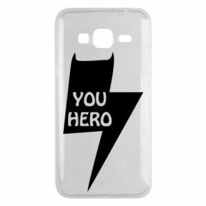 Etui na Samsung J3 2016 You hero
