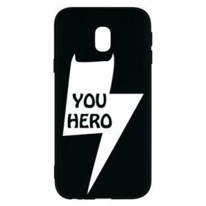 Etui na Samsung J3 2017 You hero