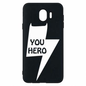 Etui na Samsung J4 You hero