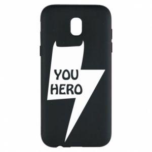 Etui na Samsung J5 2017 You hero