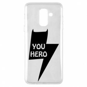 Etui na Samsung A6+ 2018 You hero