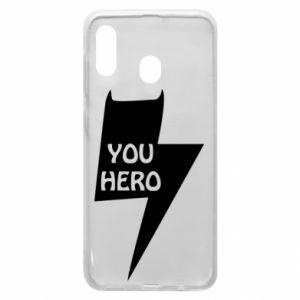 Etui na Samsung A20 You hero