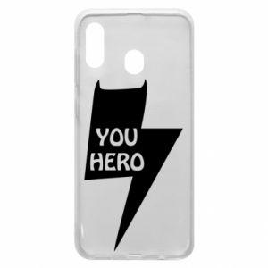 Etui na Samsung A30 You hero