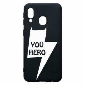 Etui na Samsung A40 You hero