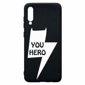 Etui na Samsung A70 You hero