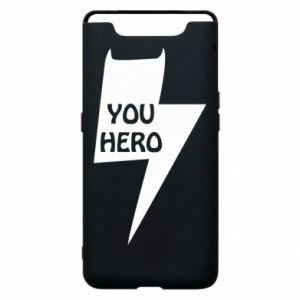 Etui na Samsung A80 You hero