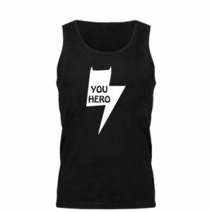 Męska koszulka You hero