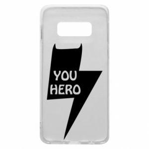 Etui na Samsung S10e You hero