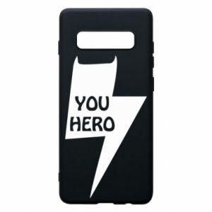 Etui na Samsung S10+ You hero