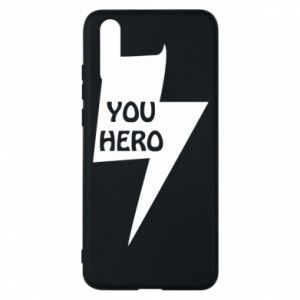Etui na Huawei P20 You hero
