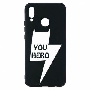 Etui na Huawei P20 Lite You hero
