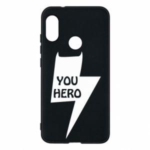 Etui na Mi A2 Lite You hero