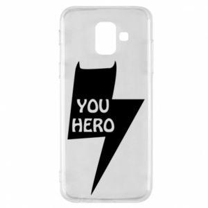 Etui na Samsung A6 2018 You hero