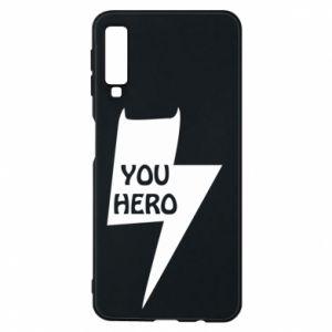 Etui na Samsung A7 2018 You hero