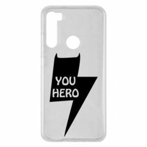 Etui na Xiaomi Redmi Note 8 You hero