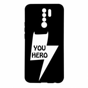 Etui na Xiaomi Redmi 9 You hero