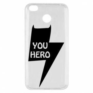 Etui na Xiaomi Redmi 4X You hero
