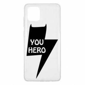 Etui na Samsung Note 10 Lite You hero