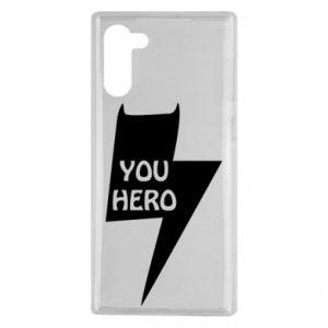 Etui na Samsung Note 10 You hero