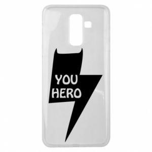 Etui na Samsung J8 2018 You hero