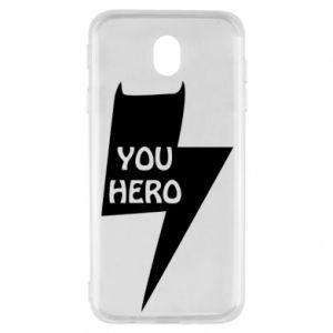 Etui na Samsung J7 2017 You hero