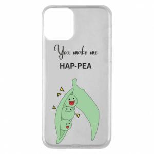 Etui na iPhone 11 You make me hap-pea