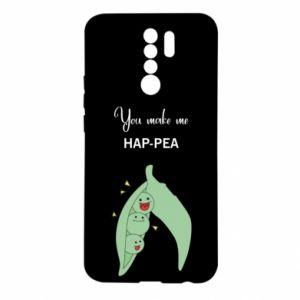 Etui na Xiaomi Redmi 9 You make me hap-pea