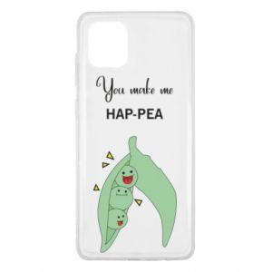 Etui na Samsung Note 10 Lite You make me hap-pea