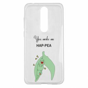 Etui na Nokia 5.1 Plus You make me hap-pea