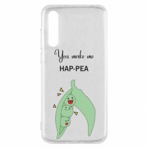 Etui na Huawei P20 Pro You make me hap-pea