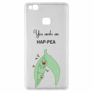 Etui na Huawei P9 Lite You make me hap-pea