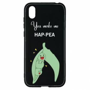 Etui na Huawei Y5 2019 You make me hap-pea