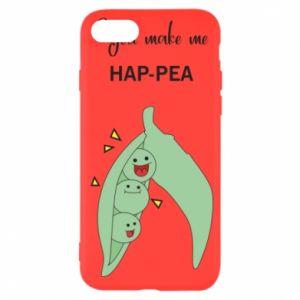 Etui na iPhone SE 2020 You make me hap-pea