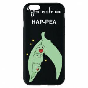Etui na iPhone 6/6S You make me hap-pea