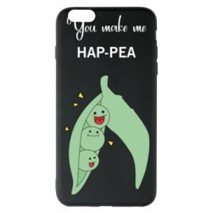 Etui na iPhone 6 Plus/6S Plus You make me hap-pea