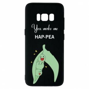 Etui na Samsung S8 You make me hap-pea