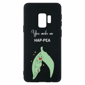 Etui na Samsung S9 You make me hap-pea